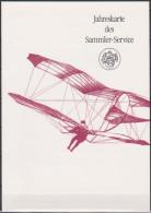 Jahresgabe Deutsche Post Philatelie 1991 MiNr.1543Block 24 Europäische Luftpostausstellung LILIENTHAL 91 ESST.(dg 141 ) - BRD