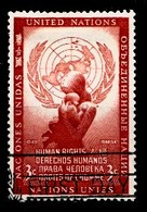 Nations Unies New-York 1954  Mi.Nr: 33 Tag Der Menschenrechte  Oblitèré / Used / Gebruikt - New-York - Siège De L'ONU