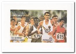 Eynhallow 1976, Postfris MNH, Olympic Summer Games - Regionale Postdiensten