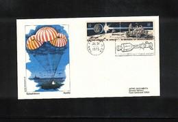 USA Space / Raumfahrt  1975 Apollo-Soyuz Splashdown Interesting Cover - Covers & Documents