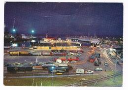SC-1799  FREDERIKSHAVN : Trafikhavnen Ved Nat - Danemark