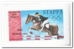 Staffa 1973, Postfris MNH, Olympic Summer Games - Regionale Postdiensten