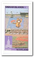 Davaar Islands 1980, Postfris MNH, Olympic Summer Games - Regionale Postdiensten