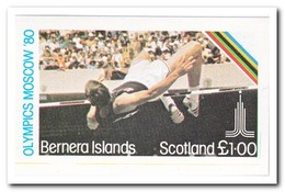 Bernera Islands 1980, Postfris MNH, Olympic Summer Games - Schotland