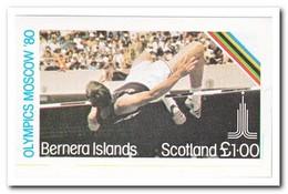 Bernera Islands 1980, Postfris MNH, Olympic Summer Games - Regionale Postdiensten
