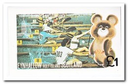 Eynhallow 1980, Postfris MNH, Olympic Summer Games - Schotland