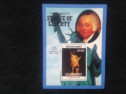 St Vincent The Centenary Of The Statue Of Liberty $3.50 S/S - St.Vincent (1979-...)