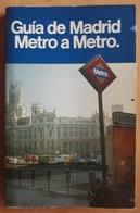 GUIA DE MADRID - METRO A METRO. 199 PÁGINAS. - Libros, Revistas, Cómics