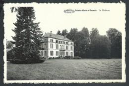 +++ CPA - SAINTE MARIE SUR SEMOIS - Le Château - Cachet Relais  // - Etalle
