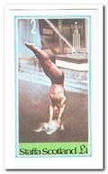 Staffa 1980, Postfris MNH, Olympic Summer Games - Schotland