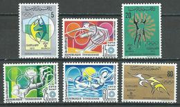 Tunisie YT N°722/727 Jeux Olympiques De Munich 1974 Neuf ** - Tunisie (1956-...)