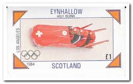 Eynhallow 1984, Postfris MNH, Olympic Winter Games - Regionale Postdiensten