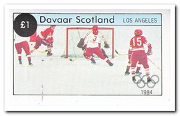 Davaar 1984, Postfris MNH, Olympic Winter Games - Schotland