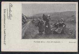 CPA - PATTEIN C.(Peintre Né A Steenvoorde) - Eve Vit Toujours - Salon 1903 - Edition Chocolat Louit / Louit Frères Cie - Peintures & Tableaux