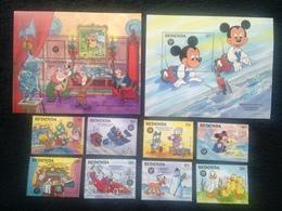 Redonda Disney Xmas 1986 S/S - America (Other)