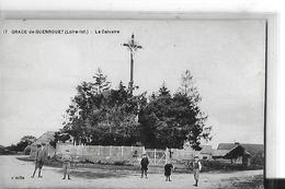 GRACE DE GUENROUET N 17   LE CALVAIRE   PERSONNAGES   DEPT 44 - France