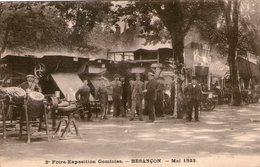 (Doubs)  CPA  Besançon  2e Foire Exposition Comtoise Mai 1923  (bon Etat) - Besancon