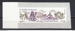 Visitez La France, AUTO ADHESIF N°713 -  2012 Neuf **   Grande Marge - Adhésifs (autocollants)