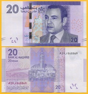 Morocco 20 Dirhams P-74 2012 UNC Banknote - Morocco