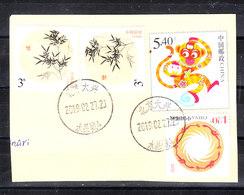 Cina  -  2019. Da Busta Postale; Anno Della Scimmia, Fiori, Energia. From Postal Envelope; Year Of The Monkey, Flowers, - Astrologia