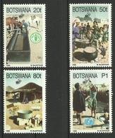 BOTSWANA 1995 50th ANNIV. OF UN SET MNH - Botswana (1966-...)