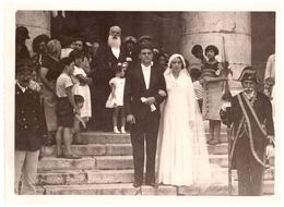 MARIAGE DE MELLE ESCARTEFIGUE-EGLISE ST LOUIS   TOULON- PHOTO LUCAN TOULON - Personnes Identifiées