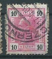 Timbre Autriche 1904 - 1850-1918 Empire
