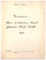 TUNISIE -DOUR.KF MEDENINE.TRIPOLI. GHADAMES.DERDJ.BOUSFOR 1895  FEUILLE SUD- ECHELLE  1/800 000=0,000125 - Roadmaps
