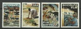 BOTSWANA 1998 TEXTILE,WEAVERS SET MNH - Botswana (1966-...)