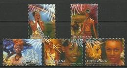 BOTSWANA 1999 MISS UNIVERSE,ANIMALS SET MNH - Botswana (1966-...)