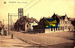QUAREGNON - Gare De Pâturages - Carte Circulée En 1940 Le 8 Septembre (avec Cachet Du Stalag II C) - Quaregnon