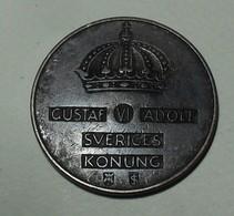 1953 - Suède - Sweden - 5 ORE TS, GUSTAF VI, KM 822 - Sweden