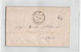 17456 SYRA TO TRIESTE - ...-1861 Prephilately