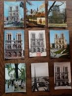 Lot De 96 Cartes Postales De NOTRE DAME DE PARIS - Facade Vue Aérienne Flèche - CPA CPSM CPM CPSM Grand Format - Notre Dame De Paris