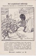 Antwerpen 1910, Het Verplichtend Onderwijs. Stemt Onder Nr 3 - Antwerpen