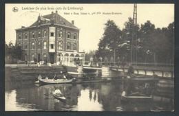 """+++ CPA - LANKLAER - Limbourg - Hôtel """"Beau Séjour"""" - Nels - Carte Animée  // - Dilsen-Stokkem"""