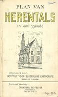 Plan Van Herentals En Omliggende (drukkerij De Peuter) - Herentals