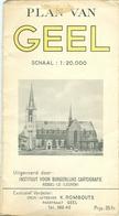 Plan Van Geel (uitgever K Rombouts) - Geel