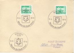 DDR Beleg Mit Sonderstempel Erfurt Museen Der Stadt 1983 - [6] République Démocratique