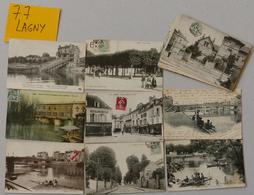 77 - SEINE ET MARNE - LAGNY - 19 CPA - Lagny Sur Marne