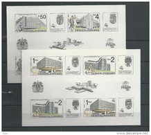 1988 MNH  Ceskoslovensko, Block 85-6 - Blocks & Sheetlets