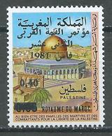 Maroc YT N°900 Journée De La Palestine Surchargé Sommet Arabe à Fès Neuf ** - Morocco (1956-...)