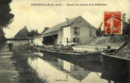 93 FREINVILLE SEVRAN - Les Bords Du Canal De LOURCQ - La Platrière / A 434 - France