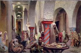 MAROC -  LE PORTEUR D'EAU - CASABLANCA EN 1915. - Maroc