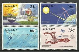 KIRIBATI 1998 GREENHOUSE EFFECT SET MNH - Kiribati (1979-...)