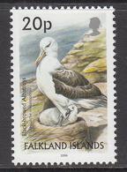 2006 Falkland Islands 20p Definitive Albatross Bird Oiseaux REPRINT  MNH - Falkland