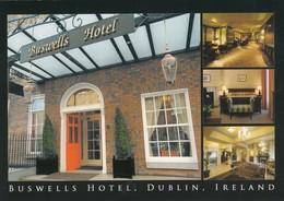 Postcard Buswells Hotel Dublin Ireland My Ref  B23614 - Dublin