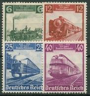 Deutsches Reich 1935 100 Jahre Deutsche Eisenbahn 580/83 Mit Falz - Neufs