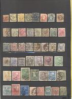 MONDO - Lotto - Accumulo - Vrac - 470+ Francobolli - Usati - Linguellati - Tutti I Francobolli Sono Ante 1920 - Francobolli