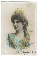 Actrice - Mildred HOLLAND - Carte Photo Reutlinger SIP N° 1068 - Circulée En 1906 - 2 Scans - Artistes